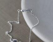 Tiniest Arrow Bracelet - Cupid's Arrow Love Bracelet for Her - Girlfriend Wife Gift - Women's Jewelry Gift - Sterling Silver Jewelry