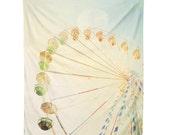 Wall Tapestry. Dreamy Ferris Wheel. Wall Hanging Fabric. Dorm Décor. Decorative Wall Décor. Wall Hanging. Circus Carnival Wall Tapestry