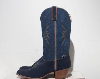 9.5 M | Women's Denim Capezio Western Boots