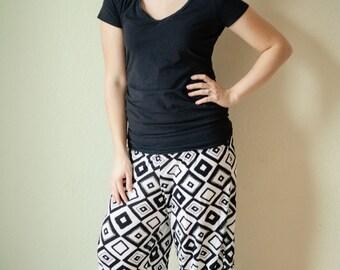 50% OFF Women's Pajama Pants sewing PDF pattern; pajama pants pattern; womens pajama pants pattern; lounge pants sewing pattern