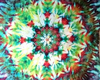 Tie Dye Tapestry Psychedelic Art Mandala