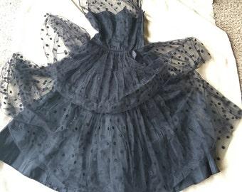 1950s Dress—The Polka Dot Billy