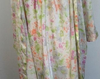 Oscar de la Renta Robe and Gown Vintage Peignoir Set Size Medium