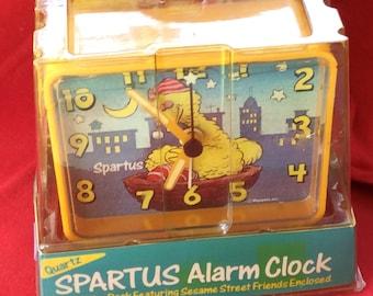 Vintage Spartus  Sesame Alarm Clock in Box 1963