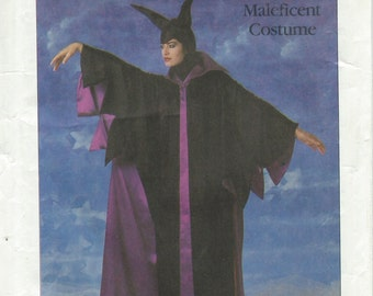 Simplicity 8329 Disney Maleficent Costume Pattern Adult Size Medium or Child Size 2 & 4
