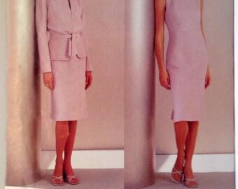 Vogue 2537 Guy Laroche wonderful jacket sleeveless dress free shipping USA