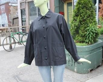 1960s Vintage YSL Beatnik Jacket Medium