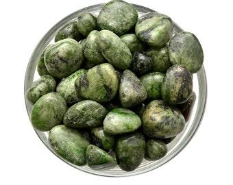 1 Lrg GREEN KYANITE Tumbled Stone Prosperity Healing Crystal and Stone Earth Spirit ...
