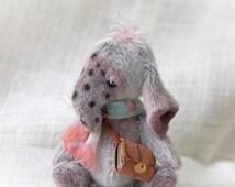 Collectible artist handmade miniature bear elephant sale bjd doll blythe friend tiny dollhouse teddy bear cutest small animal lunatic bears