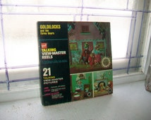 Vintage Talking Viewmaster 3D Reels Goldilocks and the Three Bears