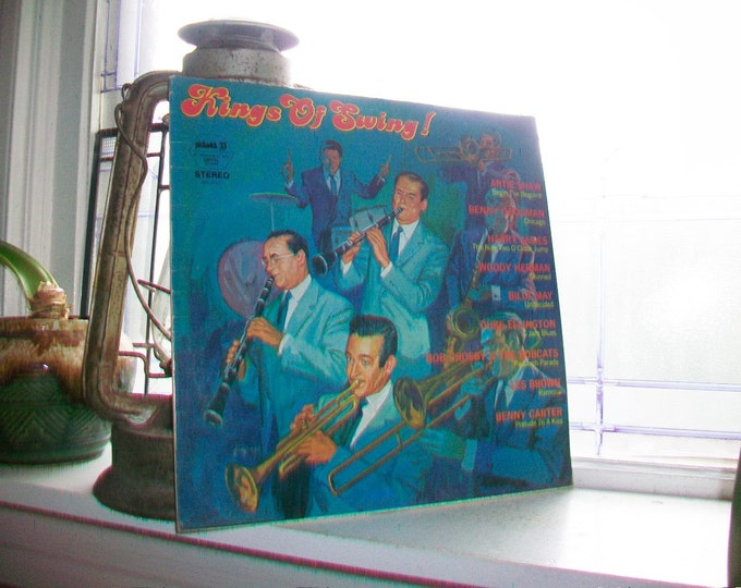 King of Swing LP Record Album SPC 3281 Vintage 1960s