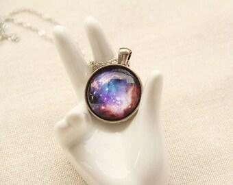 Galaxy Necklace -Cosmic, Small Magellanic Cloud, Stellar- Galaxy Necklace Series G03