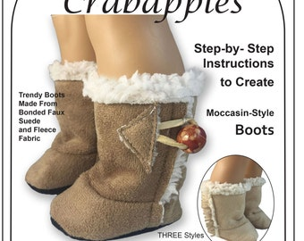 Cozy Boots  for Journey Girl and Kidz n Cats dolls