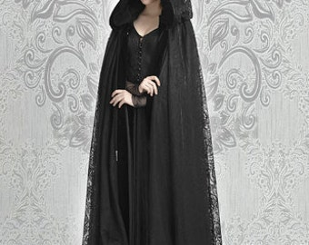 Gothic Clothing Cape gothic cloak vampire cape romantic cape New years eve cape