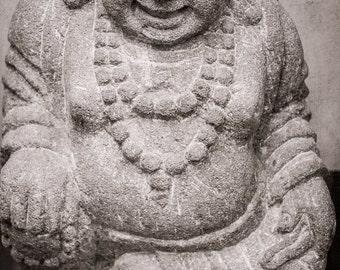 Peaceful Art - Zen Art - Meditation Artwork - Smiling Buddha Art Print - Fine Art Photography - Zen Wall Art