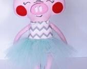 Sweet Little Stuffed Pig