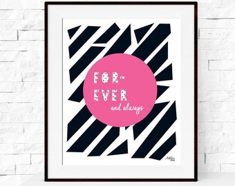 Inspirational Love Quote Art Print
