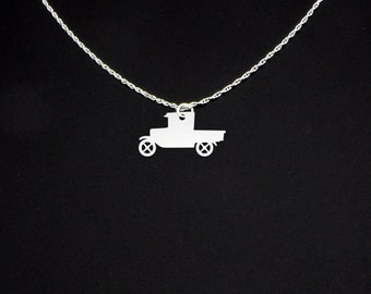 Truck Necklace - Truck Jewelry - Truck Gift