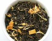 Mango Tea / Organic Green Tea / Loose Leaf / Hand Blended
