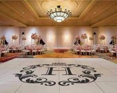 Wedding Dance Floor Decal,Vinyl Decal, Wedding Decor, Wedding Decoration, Floor Decal, Dance Floor, Wedding Sticker - DFD0010