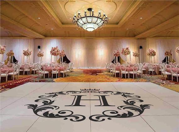 Dance Floor Decal, Wedding Floor Decal, Wedding Decor, Wedding Decoration, Floor Decal, Dance Floor, Wedding Sticker, Interior Design, Venue