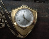Ladies  Wind Up Lucerne Lady Ladies Pocket Watch Pendant on Chain Swiss Made