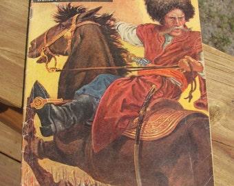 "Vintage ""Classics Illustrated"" Comic Book, The Cossack Chief Comic Book"