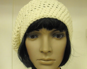 Crocheted Beret - Made to Order - 12 Colours to Choose From