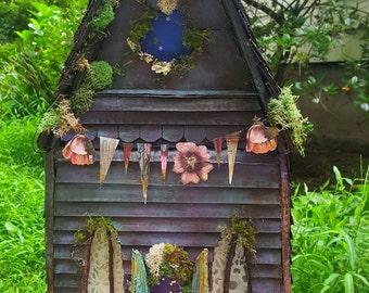 Whimsical Sweet Custom Doll Fairy house Cottage