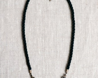 LITAR Rope Necklace Agate Beads