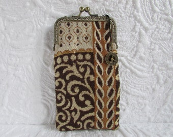 71A - iPhone 6 Case Fabric, iPod Touch Case, Cell Phone Case, Samsung Galaxy Case, cover handmade