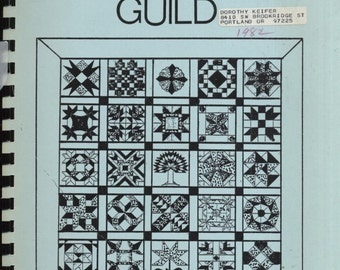 Omaha Quilters' Guild--Patterns used in Annual Raffle Quilt