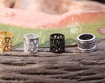 Set of 30 Dread Cuffs 7mm Hole (9/32 Inch)