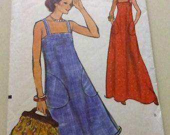 Vintage Very Easy Vogue 8893 Misses Sun Dress Size 12