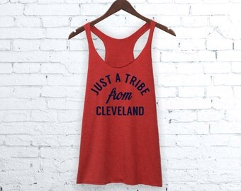 Cleveland Tank Top | Just A Tribe From Cleveland, Cleveland Shirt, Tribe Shirt