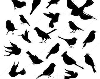 Bird Silhouette Clip Art
