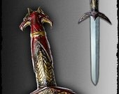 High quality ARAKNIA dagger for live action role playing(LARP).