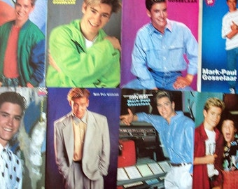 MARK-Paul GOSSELARR ~ Saved By The Bell, NYPD Blue, Franklin and Bash, Hyperion Bay, Zack Morris ~ Color Pin-Ups from 1990-1995