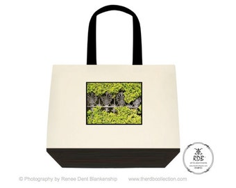 Ironwork Canvas Tote