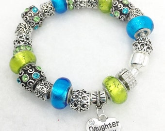 Daughter In Law Charm Bracelet