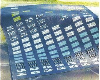 Urban Grunge Quilt Pattern, Designed by Jocelyn, DIY Quilt Pattern