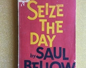 Seize the Day by Saul Bellow ~ Vintage 1960s Paperback Book