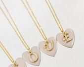 Heart Initial - Wife Gift Girlfriend Gift