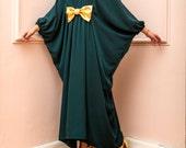 New SS16 Maxi dress, Plus size dress, Plus size clothing, Abaya, Drapped maxi dress, Green Maxi dress, Kaftan, Caftan dress, Party dress