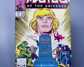 Vintage 1988 Masters of the Universe No. 13 Rare Last issue