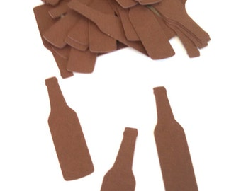 """Beer Bottle Confetti ~ Birthday Party ~ Bachelore Party ~ Confetti ~ 50 Pieces ~ 2"""" ~ Multiple Colors to Choose From"""