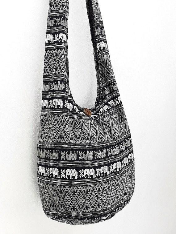 Women bag Handbags Cotton bag Elephant bag Hippie Hobo bag