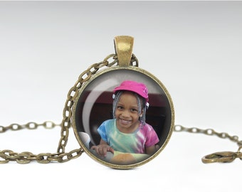Customized Pendant, Custom Picture Necklace, Personalized Photo Jewelry, [A53]