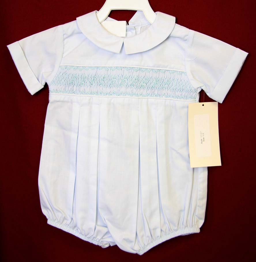 Baptism Outfit Infant Boy Smocked Baptism Outfit Baby