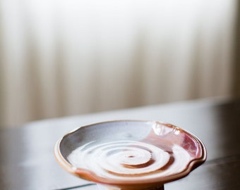 Small Cake Stand (Tri-Fecta Glaze)